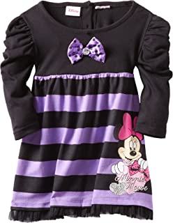 Disney Girls Minnie Mouse Striped Dress