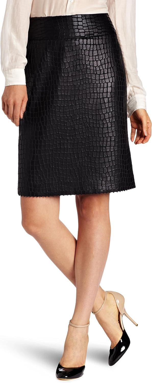 Anne Klein AK Women's Alligator Skirt