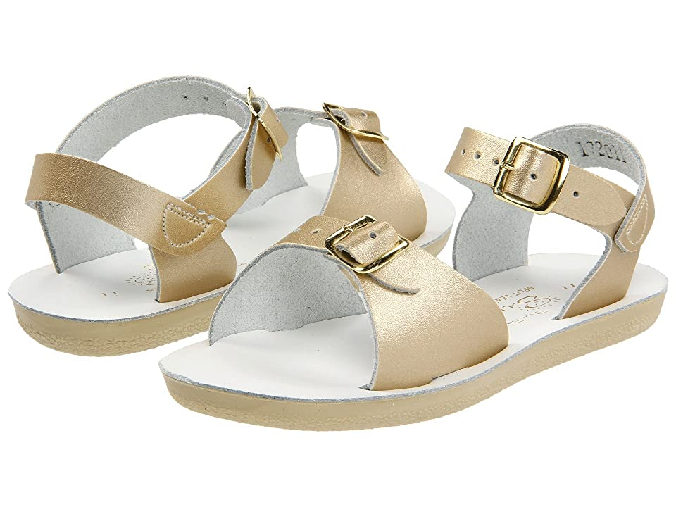 Salt Water Sandal by Hoy Shoes Sun-San Surfer (Toddler/Little Kid) (Gold) Girls Shoes