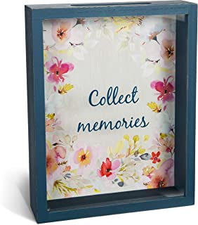 Pavilion Gift Company Collect Memories Watercolor Floral Shadow Box