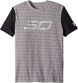 Steph Curry 30 Reppin Shersey Short Sleeve Tee (Big Kids)