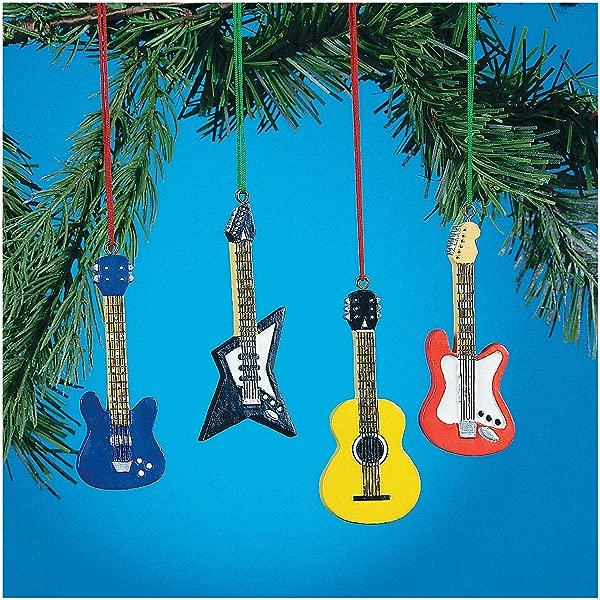 月的低音电 ACCOUSTIC 吉他挂饰款式