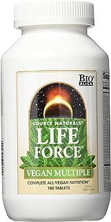SOURCE NATURALS Life Force Vegan Multiple Tablet, 180 Count