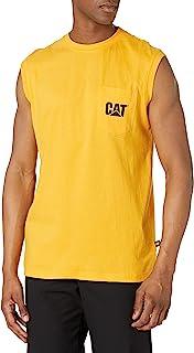 Men's Trademark Sleeveless Pocket T-Shirt