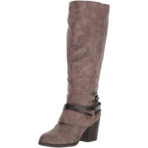 Fergalicious Womens Lexis Wide Calf Western Boot