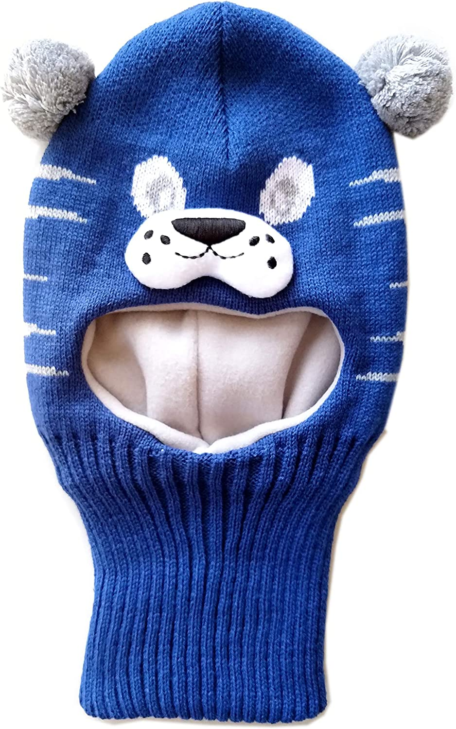 MIKK Line Baby Toddler /& Big Kid Wool Fullface Balaclava Mask with Windstopping Technology