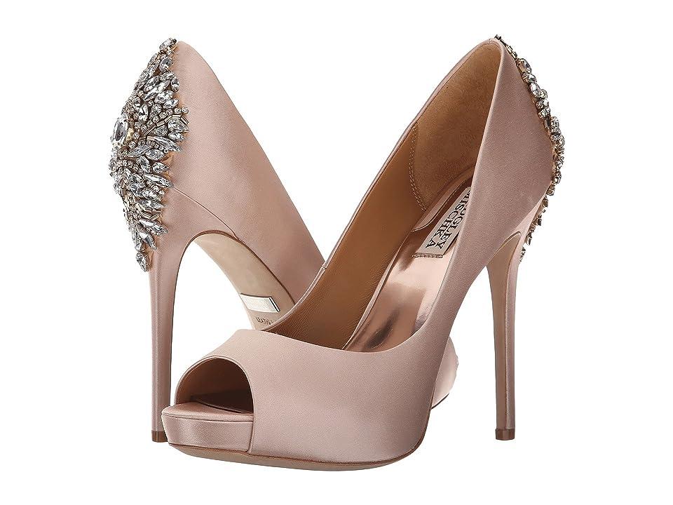 Badgley Mischka Kiara (Pink Satin) High Heels