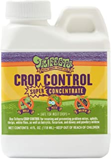Trifecta Crop Control Super Concentrate All-in-One Natural Pesticide, Fungicide, Miticide, Insecticide, Eliminate Spider Mites, Powdery Mildew, Botrytis, Mold and More on Plants Non-Toxic 4 Oz