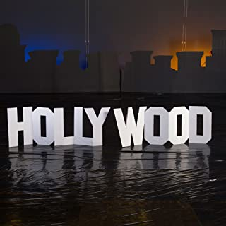 Stumps 2 ft. Hollywood Hill Letters