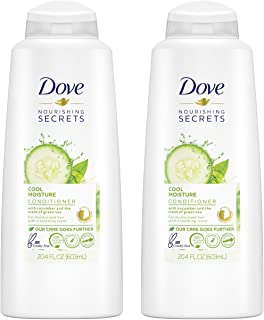 Dove Nutritive Solutions Conditioner, Cool Moisture 25.4 oz (Pack of 2)