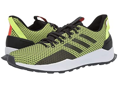 adidas Running Questar Trail (Core Black/Core Black/Hi-Res Yellow) Men