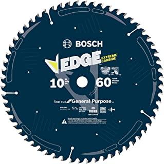 Bosch DCB1060 Daredevil 10-Inch 60-Tooth Fine Finish Circular Saw Blade