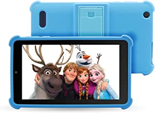 """Venturer Small Wonder 7"""" Android Kids Tablet with Disney Books, Bumper Case & Google Play, 16GB Storage & 2GB RAM (VCT9F78..."""