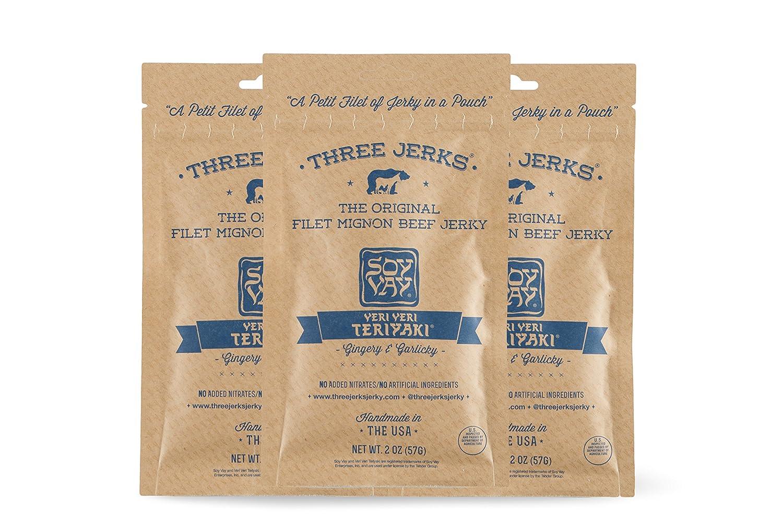 Three Max 55% OFF Jerks High Protein Filet Same day shipping Mignon Soy Jerky V Veri Beef Vay