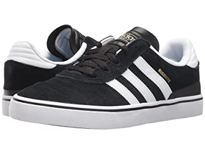 adidas Skateboarding Busenitz Vulc (Black/White/Black) Men
