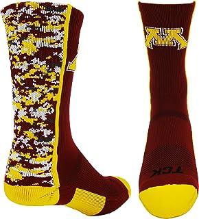 TCK Minnesota Golden Gophers Digital Camo Crew Socks
