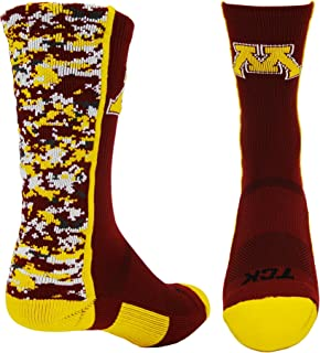 Minnesota Golden Gophers Digital Camo Crew Socks