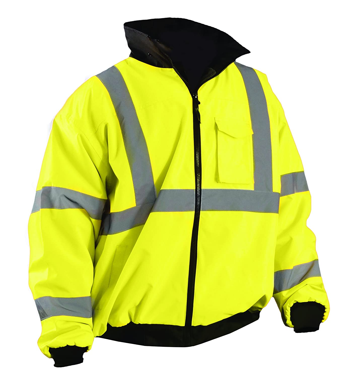 OccuNomix Bomber Jacket, Yes Insulated, Yellow, 3XL