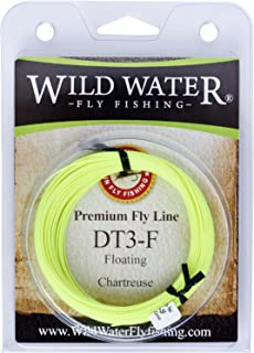 Wild Water High Floating 3-Weight Chartreuse Double Taper Fly Fishing Line, 90 ft