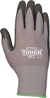 Bellingham C3702XL Tough GT Work Gloves Breathable Micro Foam Nitrile Palm and Fingertips,  X-Large,  X-Large