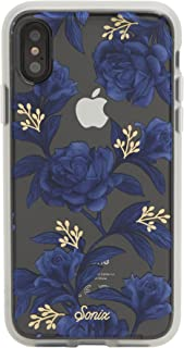Sonix Bluebell Case for iPhone X/XS [Military Drop Test Certified] Protective Blue Floral Clear Case for Apple iPhone X, iPhone Xs