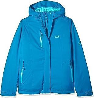 Jack Wolfskin Women's Troposphere Waterproof Hybrid Down-Fiber Insulated Jacket