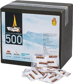 ファイヤースターター 着火剤 お得な500個入 バーベキュー 薪ストーブ 暖炉 焚き火 キャンプ ヨツール BC0500