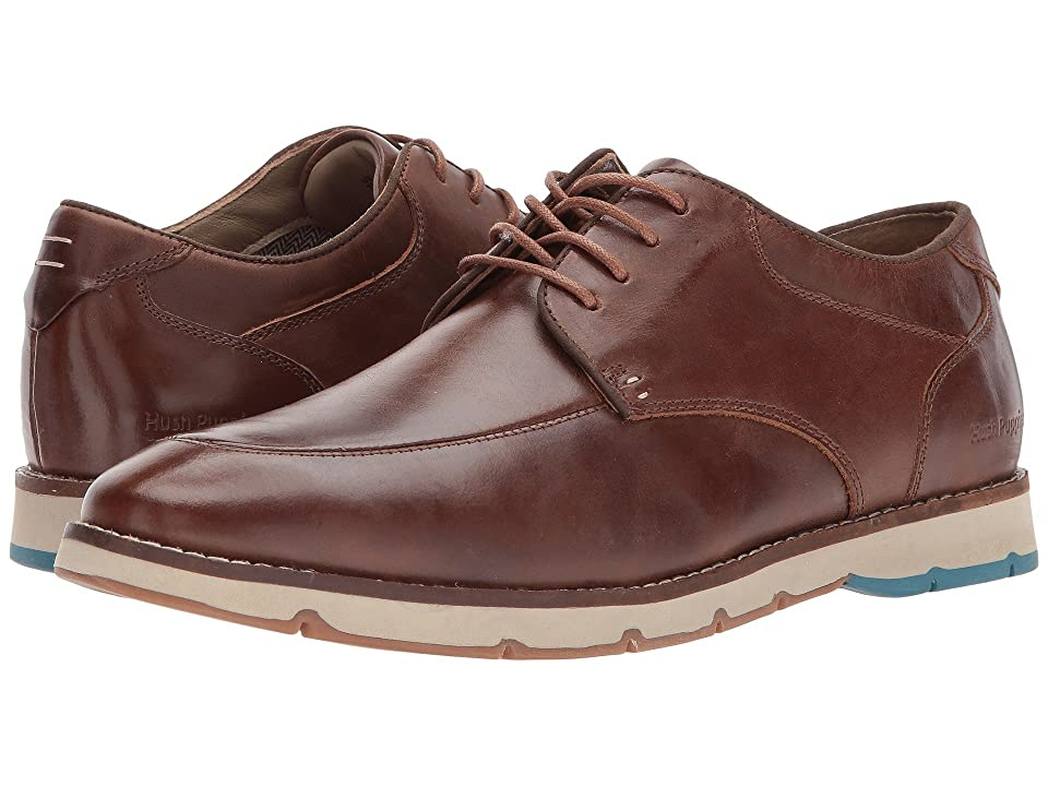 Hush Puppies Briski Hayes (Light Brown Leather) Men