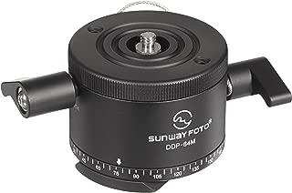 SunwayFoto DDP-64MX Indexing Rotator for Panoramas, 22.04lbs Capacity