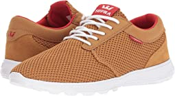 Tan/Risk Red/White