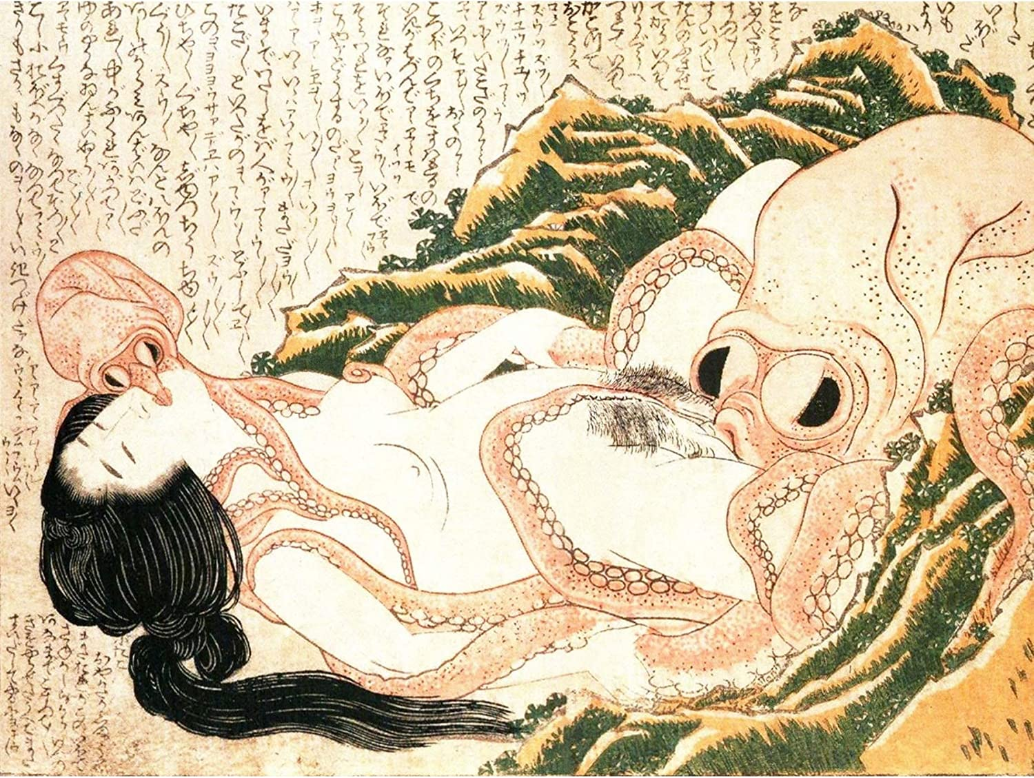 Japanese Octopus Painting