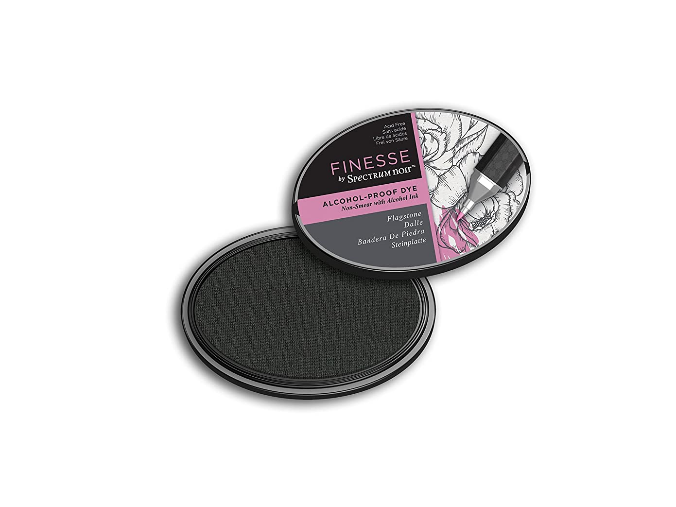 Spectrum Noir SN-IP-FAL-Flag Finesse (Flagstone) Alcohol Proof Ink Pad, fk81553911