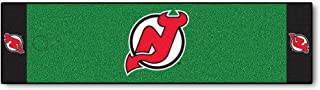 FANMATS NHL New Jersey Devils Nylon Face Putting Green Mat