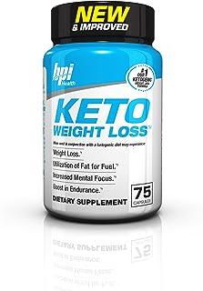 BPI Health Keto Weight Loss - Ketogenic Fat Burner - Keto Weight Loss Pills - Raspberry Ketones - Supports Mental Focus - Promotes Endurance - Burn Fat for Fuel - 75 Capsules