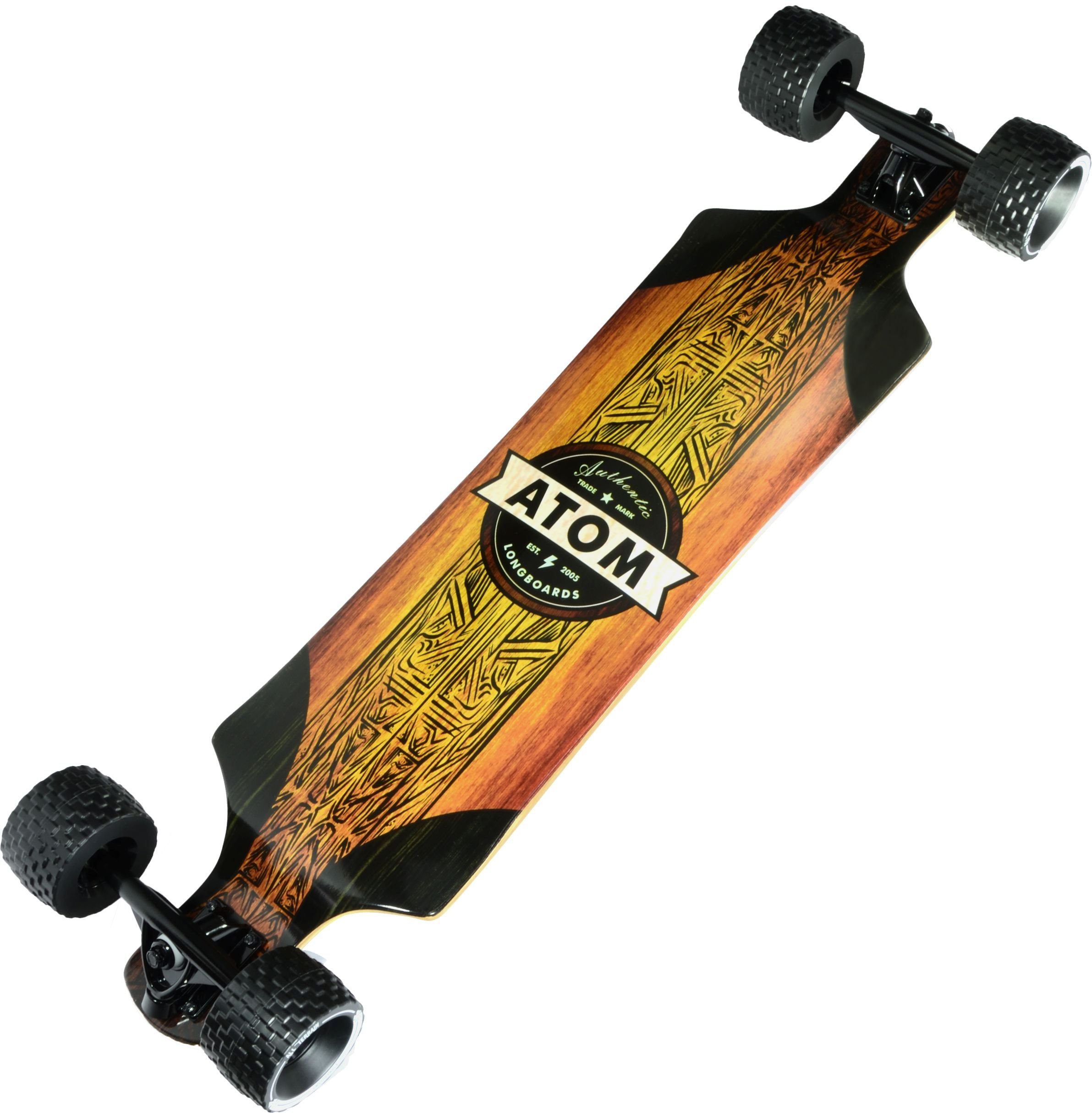 Atom Longboards All Terrain Longboard Woody