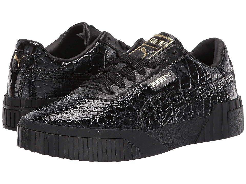 PUMA Cali Croc (Puma Black Puma Black) Women s Shoes e3b7a0703