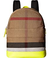 Burberry Kids - Nico Slim Check School Backpack
