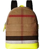 Burberry Kids - Nico Slim Check School Backpack