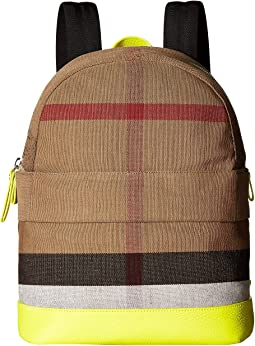 Nico Slim Check School Backpack