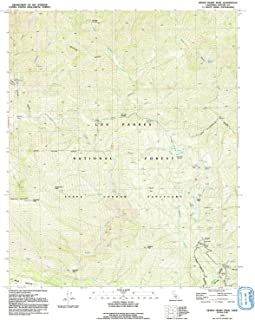 YellowMaps Devils Heart Peak CA topo map, 1:24000 Scale, 7.5 X 7.5 Minute, Historical, 1991, Updated 1991, 26.7 x 22 in
