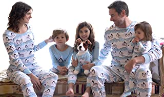 Leveret Dog Pajamas Matching Christmas Pjs for Dogs 100% Cotton (Size X-Small-XX-Large)