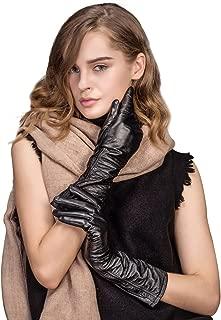 Best long navy gloves ladies Reviews