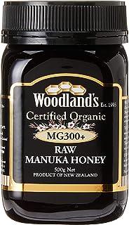 Woodlands Organic Manuka Honey MG300+, 500g