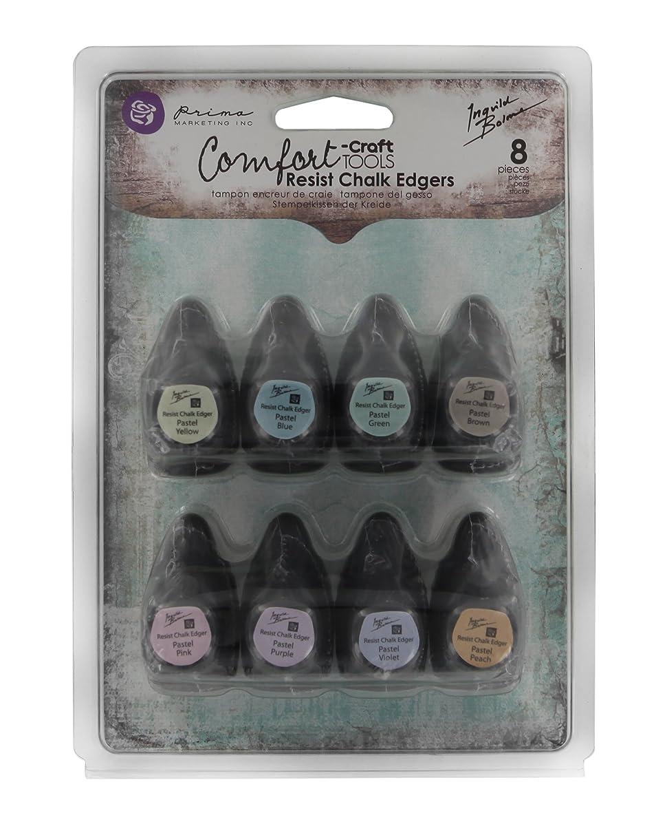 Prima Marketing 892371 8-Piece Chalk Fluid Edger Resist Pad