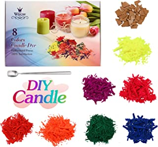Trycooling 2PCS Rubber Candle Making Mould DIY Candle Making Supplies Moulds for