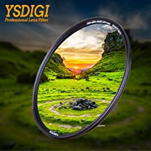 YSDIGI 49mm UV Filter, UV Protection Lens Filter with Lens Cloth, Multi-Coated Ultraviolet UV, High Definition Schott B270 Glass, Nano Coatings, Ultra-Slim, HD UV Filter for Outdoor Photography.