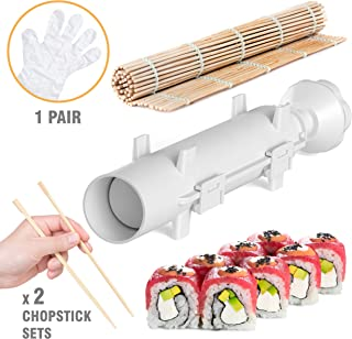 Sushi Bazooka - Sushi Making Kit - Sushi Maker - Sushi set - Sushi Maker Machine - Sushi gift set - Bazooka Sushi - Japanese Sushi Making Kit - Sushezi roller Prepare Sushi at Home
