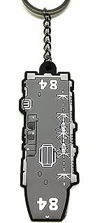 「自衛隊大作戦」ラバーキーホルダーNo.8 海上自衛隊 護衛艦かが