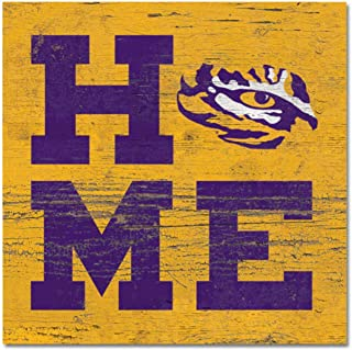 NCAA Fan Shop LSU Tigers Legacy Mini Table Top Stick 2.5x6 Wood One Size