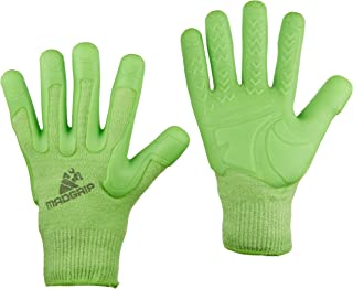 Mad Grip F100 Pro Palm Lawn and Garden Gloves, X-Small, Green